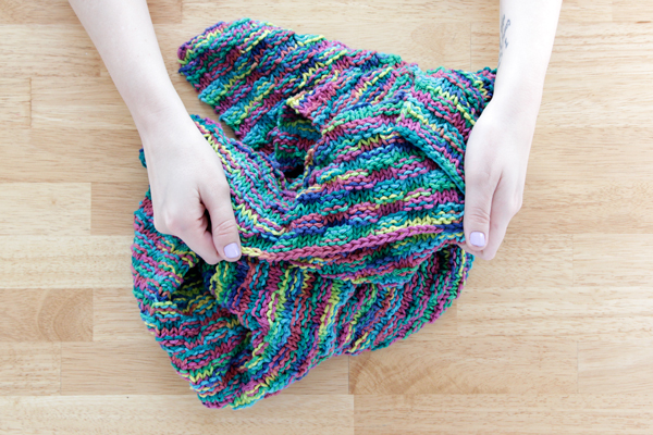 a77c2f353 Simple Basketweave Baby Blanket