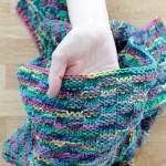 Simple Basketweave Baby Blanket