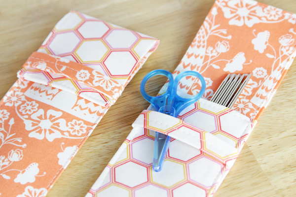 Knitting Needle (or Pencil) Case DIY