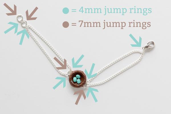 Robin's Egg Nest Bracelet