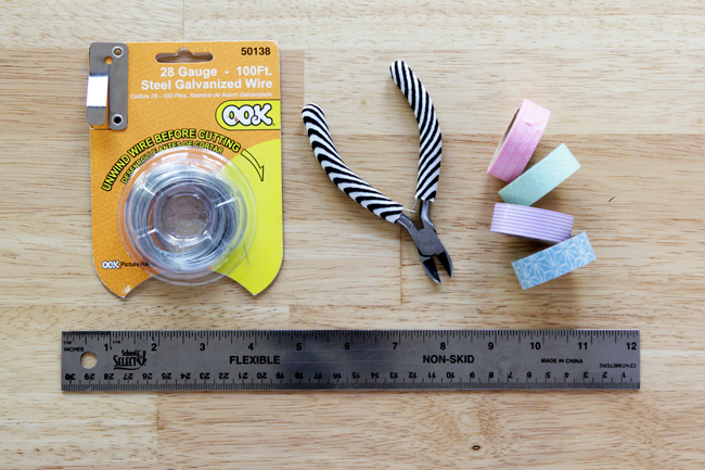 Washi Tape Twist Ties