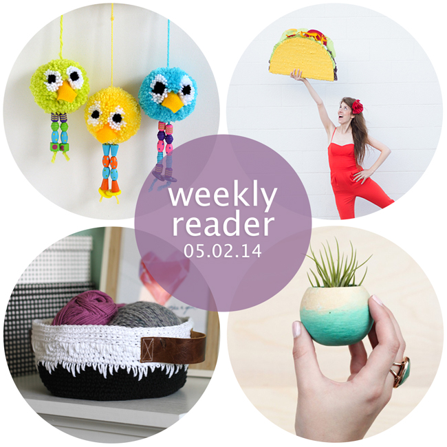 Weekly Reader 05.02.14 | Hands Occupied