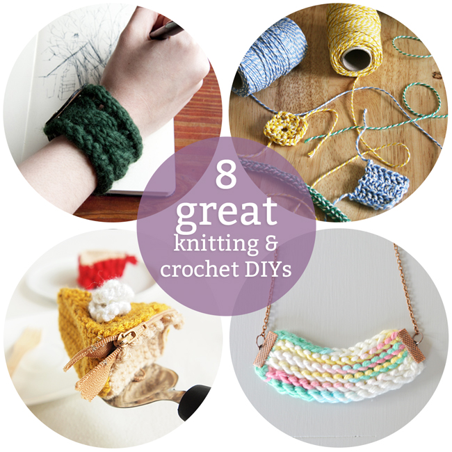 8 Great Knitting & Crochet DIY Ideas | www.handsoccupied.com
