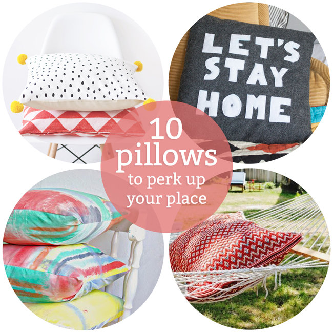 Weekly Reader + Pillows to Perk Up Your Place!