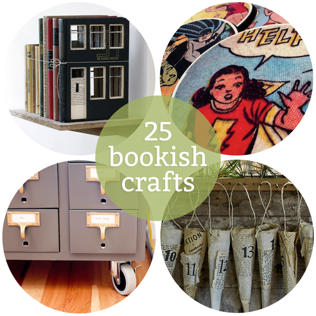 25 Bookish Crafts to Get Excited for Summer Reading at handsoccupied.com