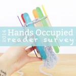 Hands Occupied 2014 Reader Survey (& a giveaway!)
