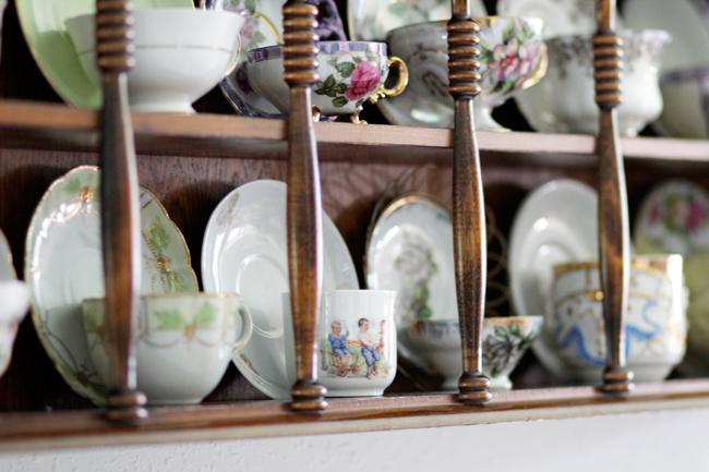 Grandma's Tea Cups at handsoccupied.com