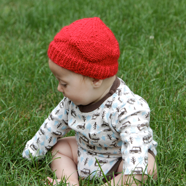 Red Hats For Newborns A Free Pattern Hands Occupied