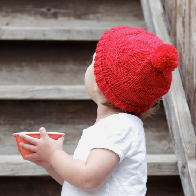 Red Hats for Newborns Pattern at handsoccupied.com