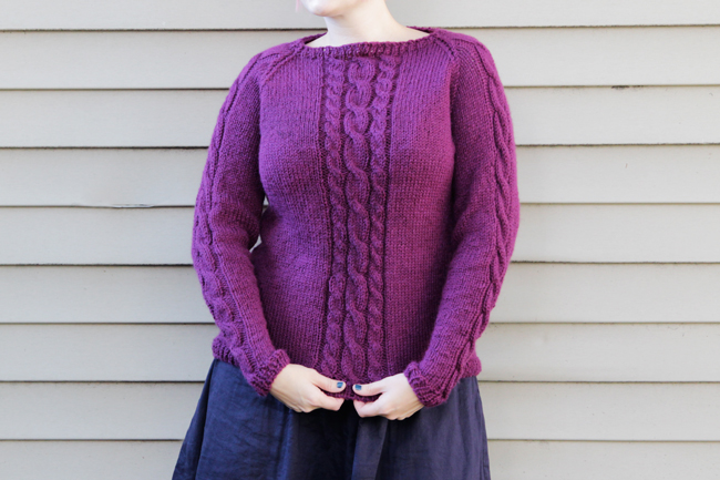 Announcing the Fall Knit Along! The Remy Pullover at handsoccupied.com