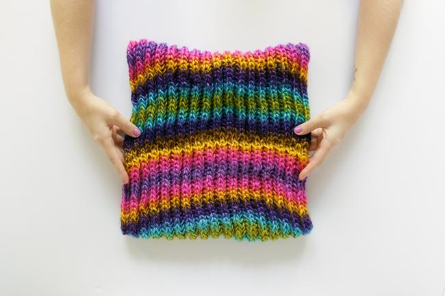 Brioche Knitting A Brioche Cowl Pattern Hands Occupied
