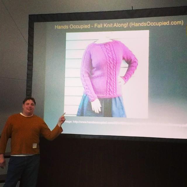 @valerieclaires / Remy Pullover presentation