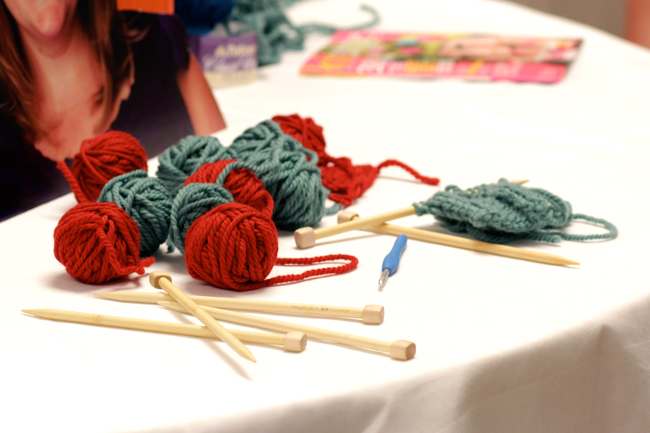 Vogue Knitting Live is a fun conference for knitters and yarn fans alike.