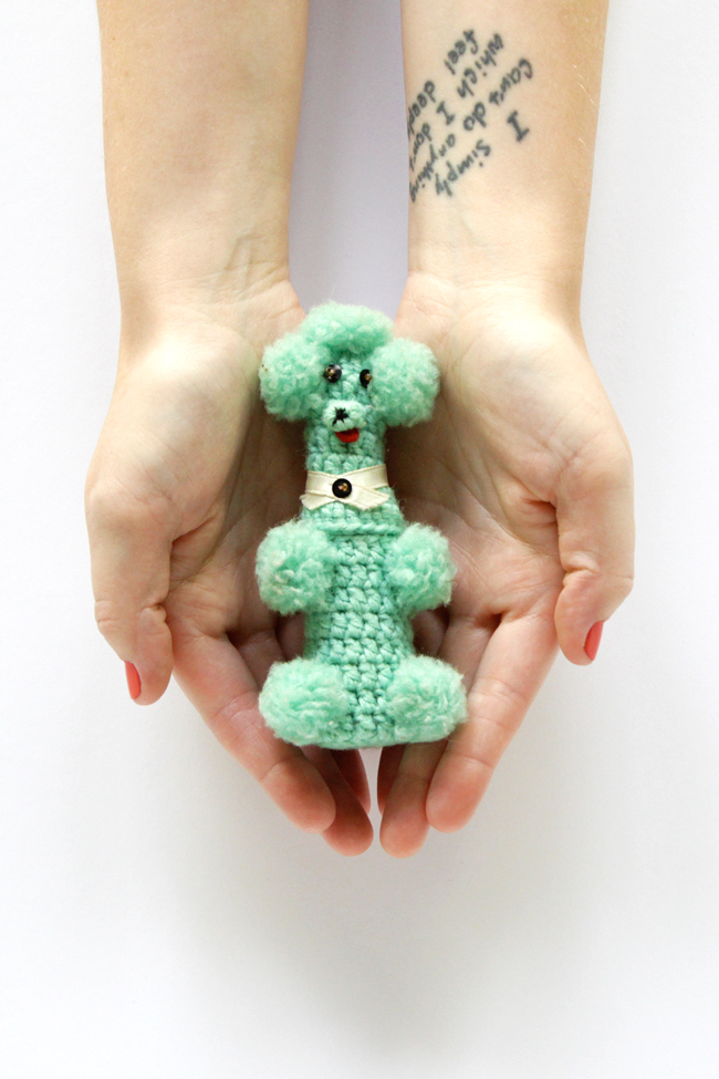 Following a Vintage Amigurumi Poodle Down a Rabbit Hole