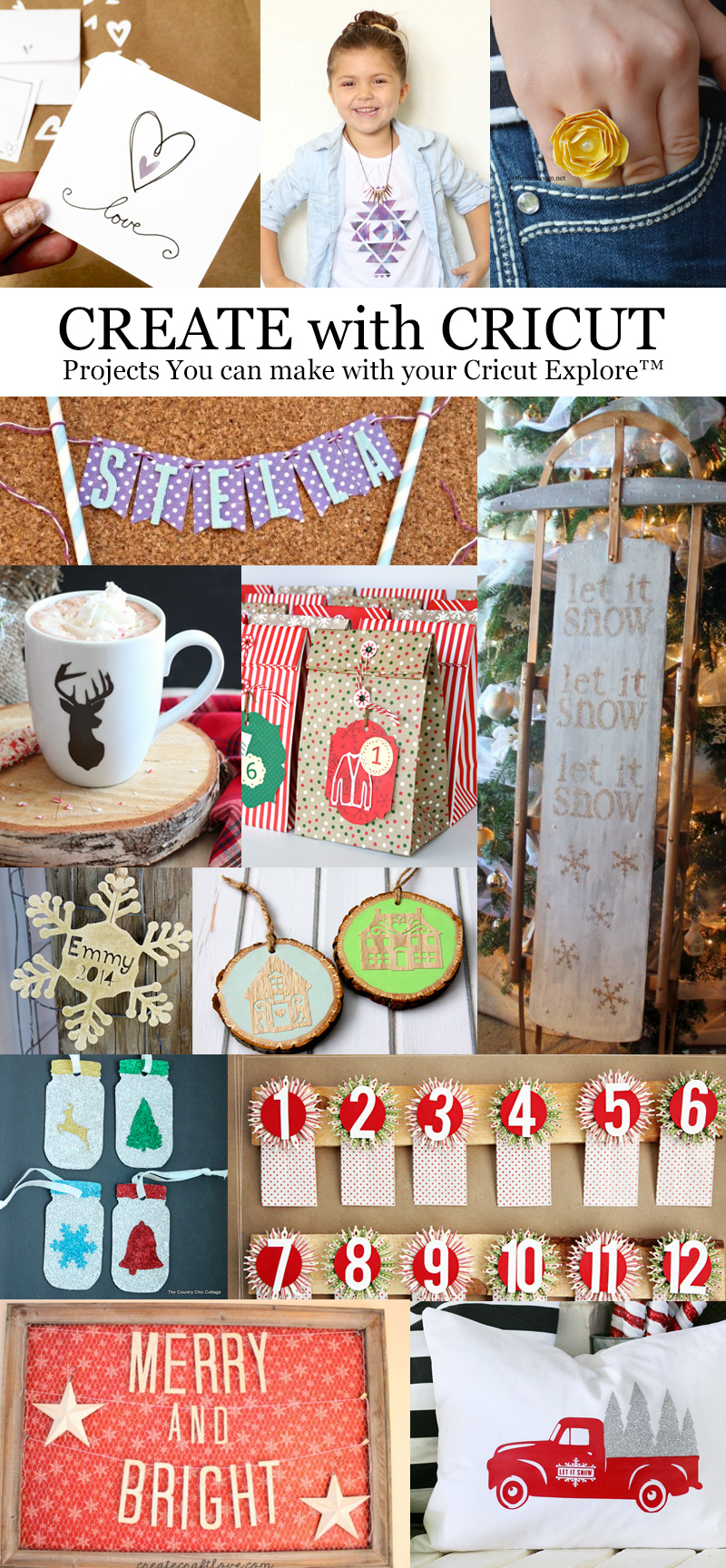 13 Festive Ways to Create with Cricut | Hands Occupied