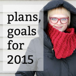 Plans & Goals for 2015