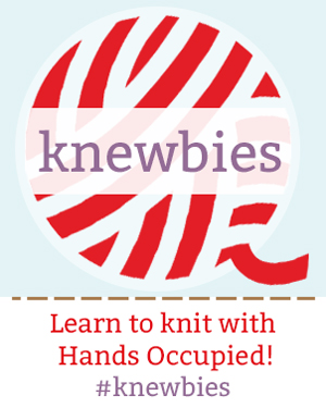 Click to access beginner knitting tutorials!