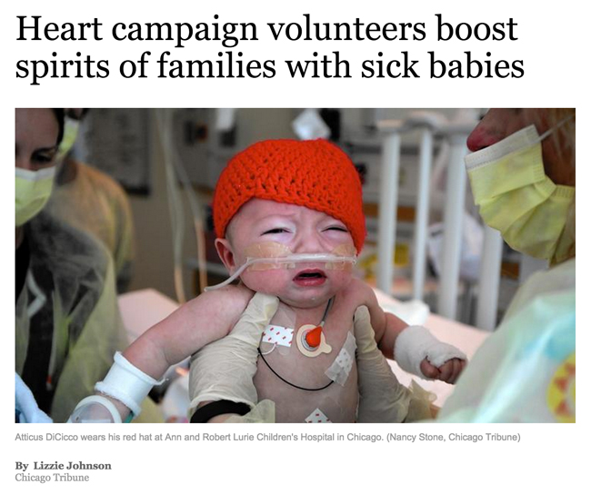 Little Hats, Big Hearts in the News | Hands Occupied