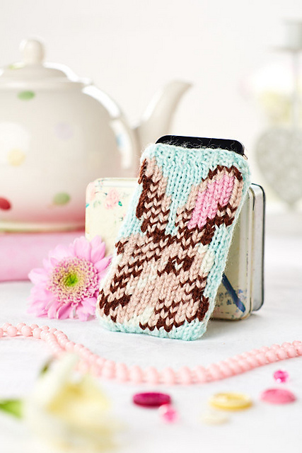Bunny Phone Cozy by Ella Austin
