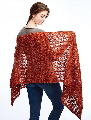 Fanfare Wrap Pattern (free pattern!)