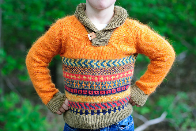 Imagination Sweater by Kate Oates