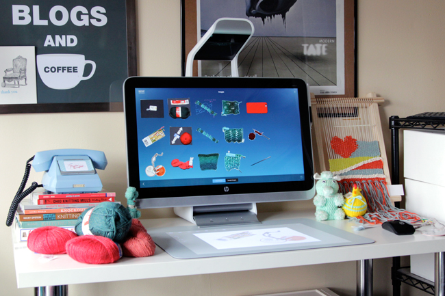 Organizing Your Stash Digitally with the HP Sprout