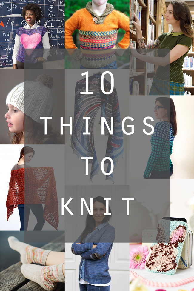 10 Inspiring new patterns to try this spring - click through for where to get your hands on them all!