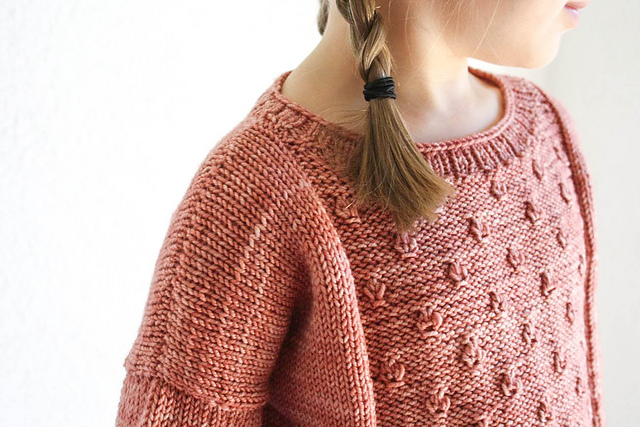 Gretel sweater pattern by Nadia Crétin-Léchenne