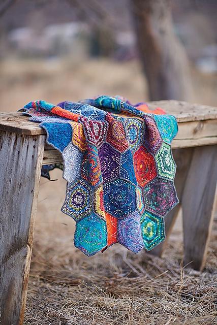 Margarita's Coverlet pattern by Andrea Jurgrau