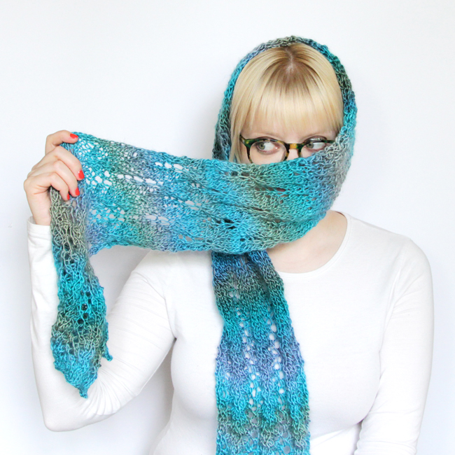 Spring Meadow Scarf Knit Along!