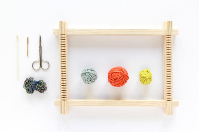 Click through to learn how to start a weaving project!
