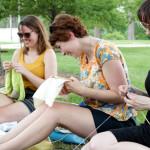 Knit in Public Day Recap