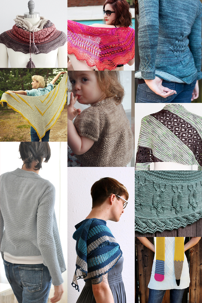 10 of the most inspiring knitting patterns for late summer - click through for how to get your hands on them all!