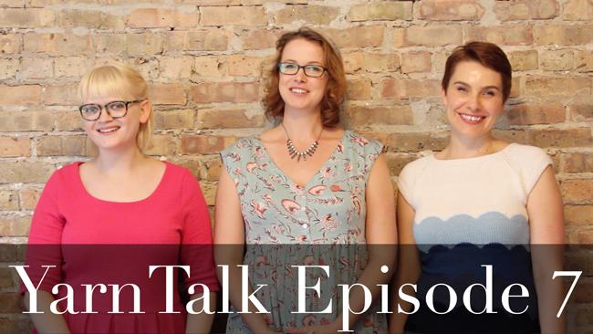 YarnTalk Episode 7 features independent publishing, knitting brainwaves & Emily Ringelman !