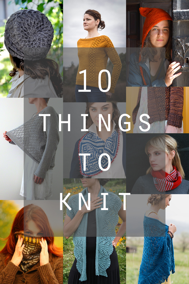 10 of the most inspiring knitting patterns to kickstart your fall knitting!