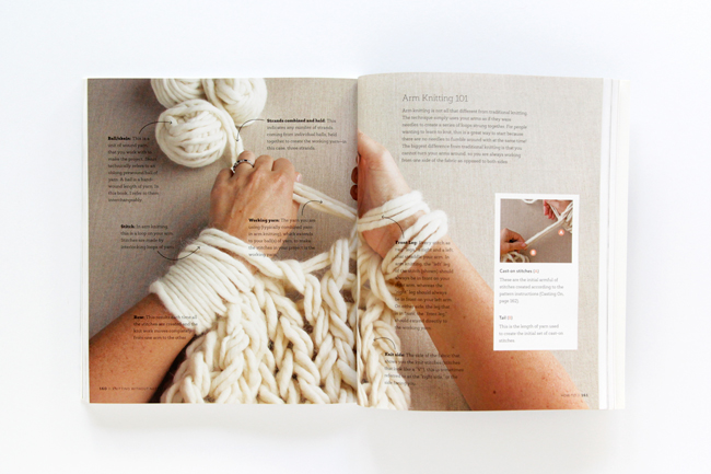 A book review of Knitting Without Needles by Anne Weil of Flax & Twine