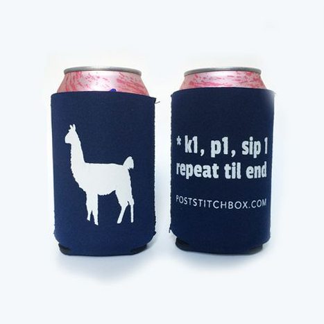 Sip 1 drink koozie from PostStitch.
