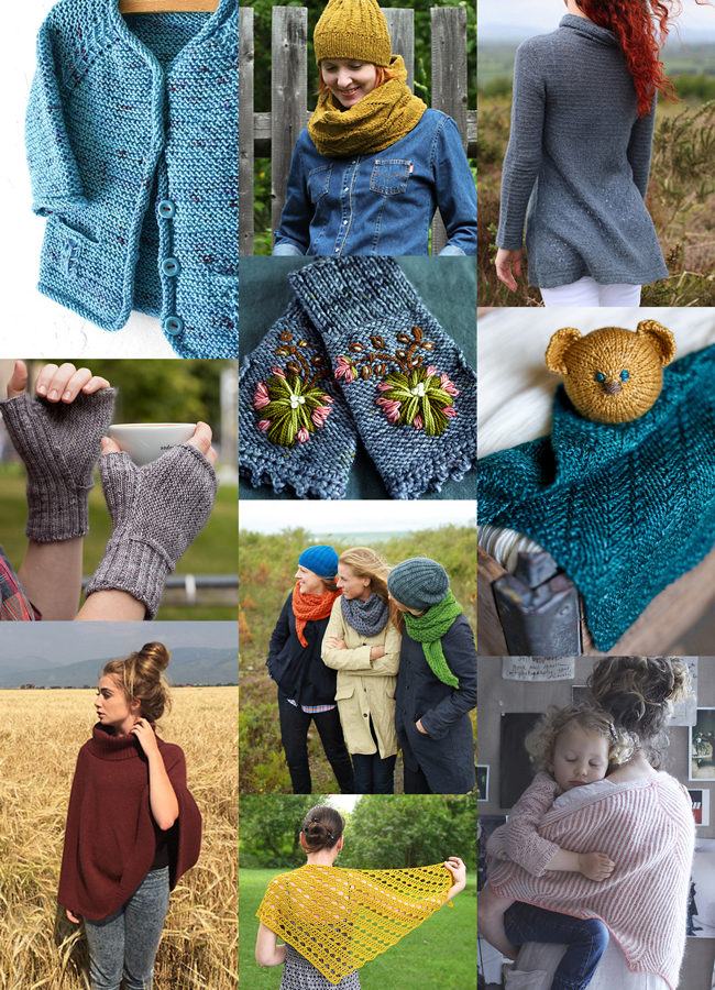 10 inspiring knitting patterns to tuck in with for autumn!