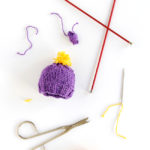 Knit Stocking Cap Ornament – 12 Ornaments of Christmas