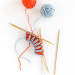 How to Knit Two Color Brioche Rib in the Round / Funkasonic KAL