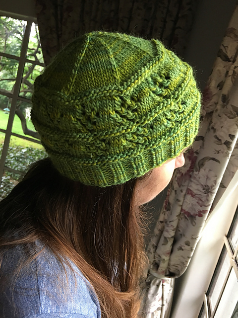 Celtic Earth Hat by Linda Dawkins