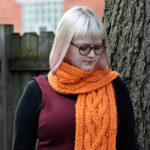 Quad Cable Scarf