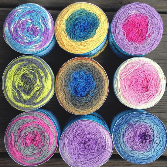 Bijou Basin Ranch yarns dyed by ModeKnit Yarns!