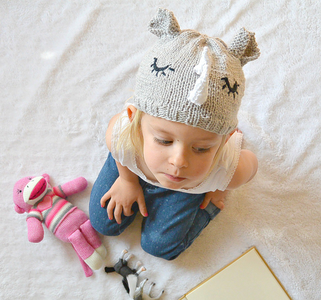Toddler Rhino Hat