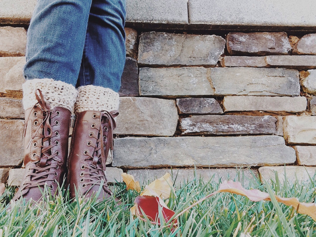 Crochet Boot Toppers via Hello, Handy Heart
