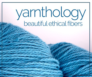 Yarnthology - beautifully ethical fibers. Visit yarnthology.com, where they select brands and let you sort our yarn by the people who are making positive changes ranging from cruelty free to American made.