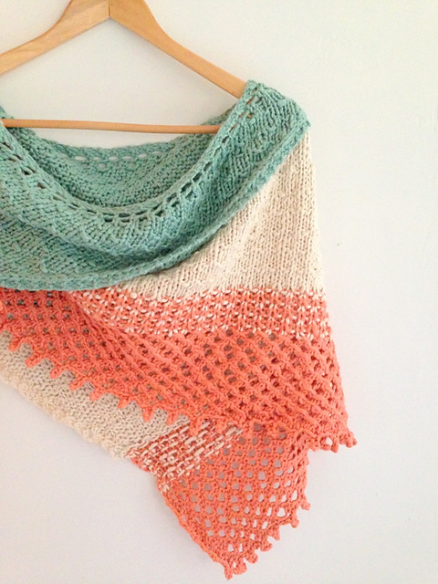 Big Island Wrapper by Little Church Knits