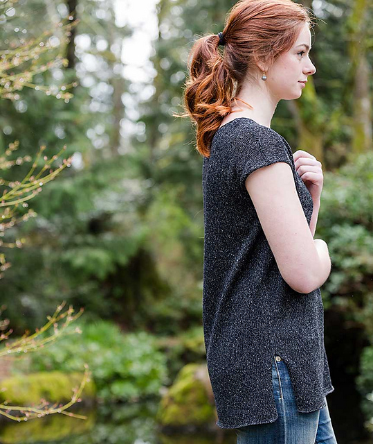 Simple Tee by Churchmouse Yarns and Teas