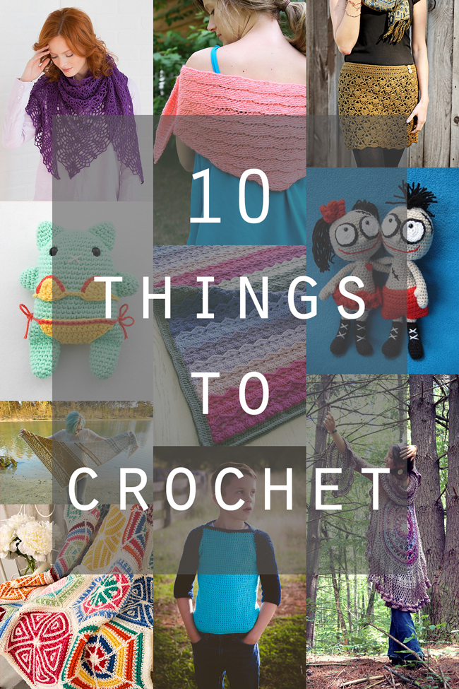 Crochet has so much to offer crafters! Some of the best patterns released this month run the gamut from cute to elegant as heck.