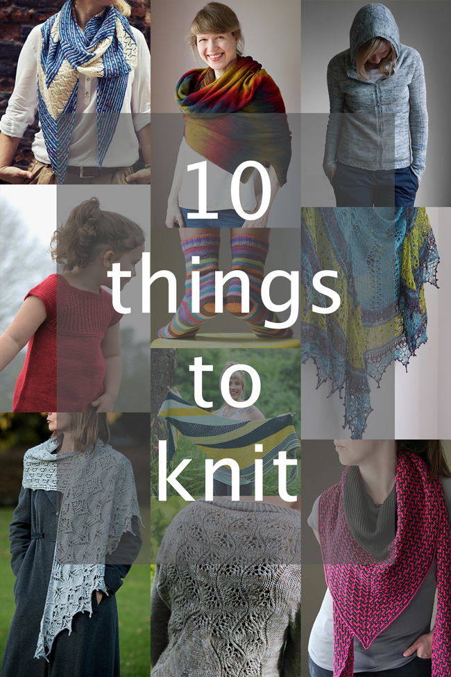 Looking for something new to knit? These early fall patterns are to die for!